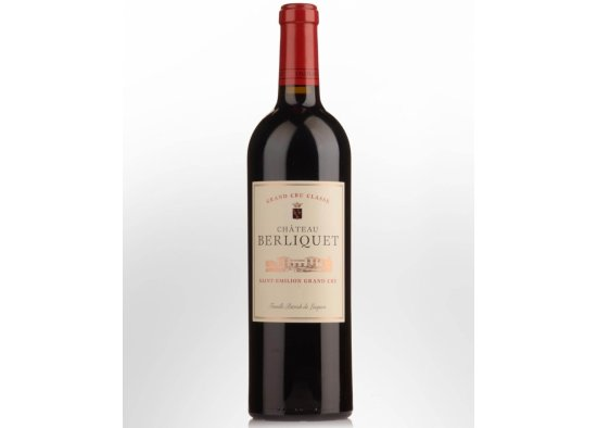 CHATEAU BERLIQUET SAINT EMILION GRAND CRU,